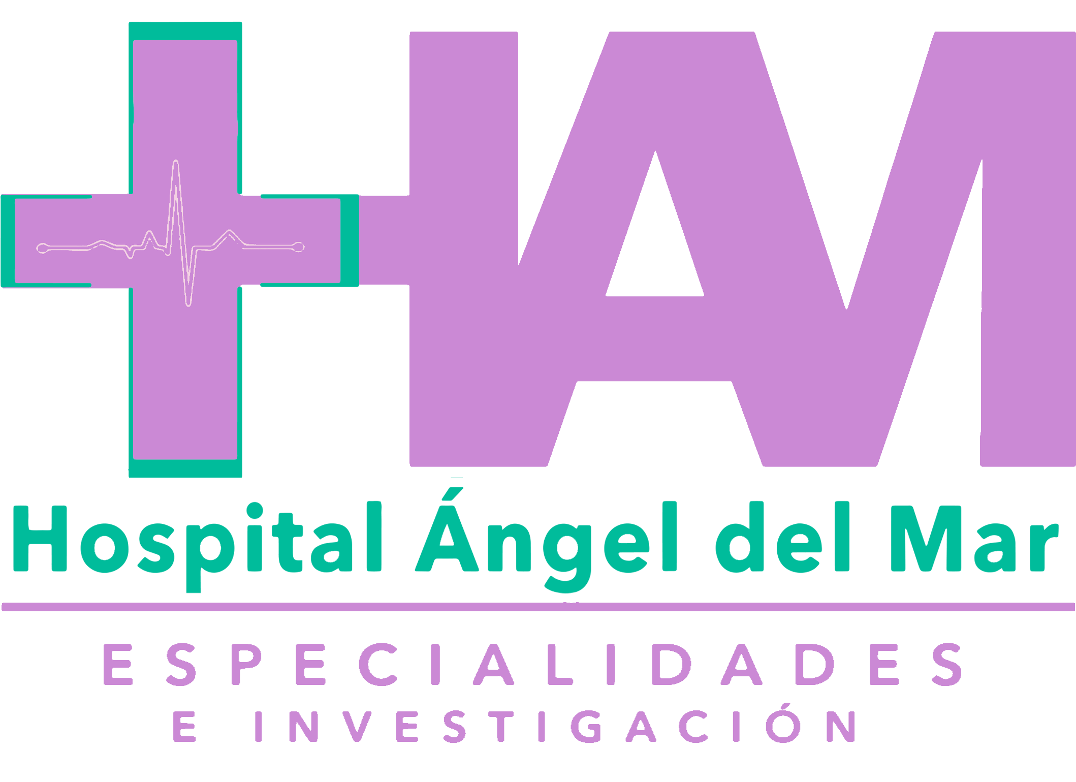 Logotipo Hospital Ángel del Mar Puerto Escondido Oaxaca